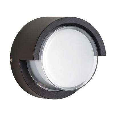 Светильник Paletto CYL LED 15W 550Lm 180G Черный 4000K IP54 (Lightstar, 382174) - Amppa.ru