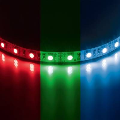 Лента 5050Led 12V 14.4W/M 60Led/M 10-12Lm/Led Ip20 Rgb 200M/Box Цветная (Lightstar, 400050) - Amppa.ru